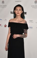 ASAMI ZDRENKA at 7th Annual Asian Awards in London 05/05/2017
