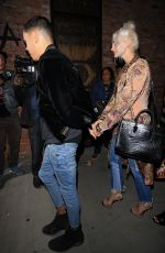 ASHLEE SIMPSON and Evan Ross Out for Dinner in Hollywood 05/16/2017