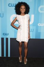 ASHLEIGH MURRAY at CW Network's Upfront in New York 05/18/2017