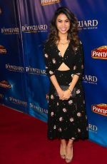 ASHLEY ARGOTA at The Bodyguard Opening Night in Los Angeles 05/02/2017