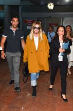 ASHLEY BENSON Arrives at Nice Airport 05/20/2017