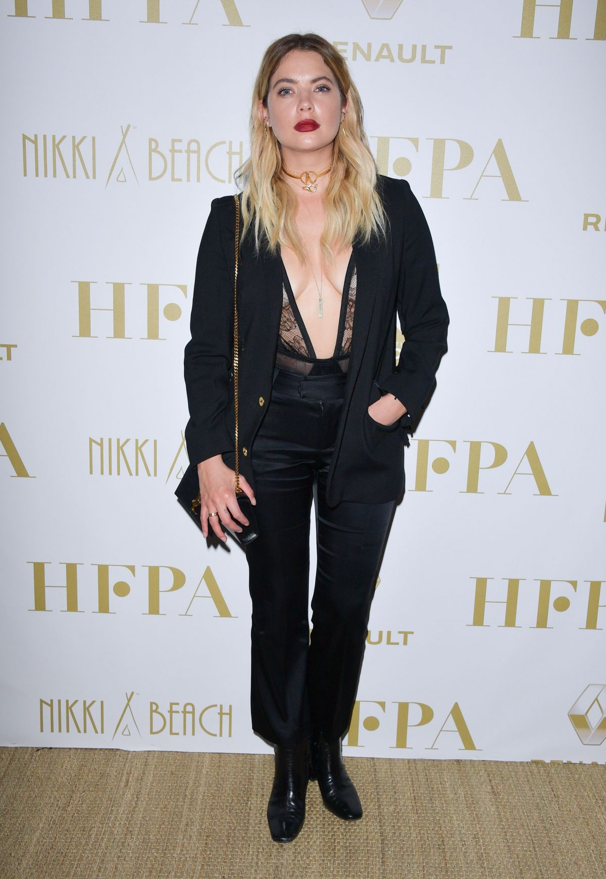 ASHLEY BENSON at Hollywood Foreign Press Association