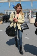 ASHLEY BENSON at Nice Airport 05/24/2017