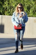 ASHLEY BENSON Leaves a Salon in West Hollywood 05/03/2017
