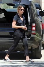 ASHLEY BENSON Out and About in Beverly Hills 05/02/2017