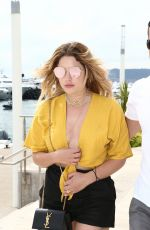 ASHLEY BENSON Out and About in Cannes 05/22/2017
