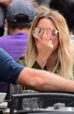 ASHLEY BENSON Out for Lunch in New York 05/27/2017