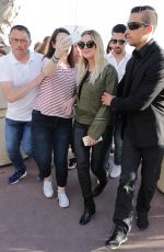ASHLEY BENSON Out in Cannes 05/22/2017