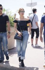 ASHLEY BENSON Out in Cannes 05/23/2017