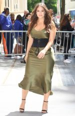 ASHLEY GRAHAM Arrives at The View in New York 05/08/2017