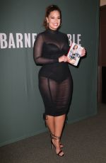 ASHLEY GRAHAM at A New Model Book Signing in New York 05/09/2017