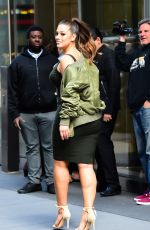 ASHLEY GRAHAM Heading to an Office Building in New York 05/10/2017