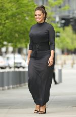 ASHLEY GRAHAM Leaves Time Inc. Building in New York 05/09/2017