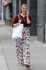 ASHLEY GREENE Out and About in Beverly Hills 05/05/2017