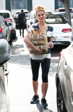 ASHLEY GREENE Out for Grocery Shopping in Beverly Hills 05/08/2017