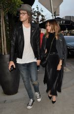 ASHLEY TISDALE and Christopher French Out in Hollywood 05/05/2017