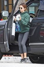 ASHLEY TISDALE Arrives at a Gym in Los Angeles 05/15/2017
