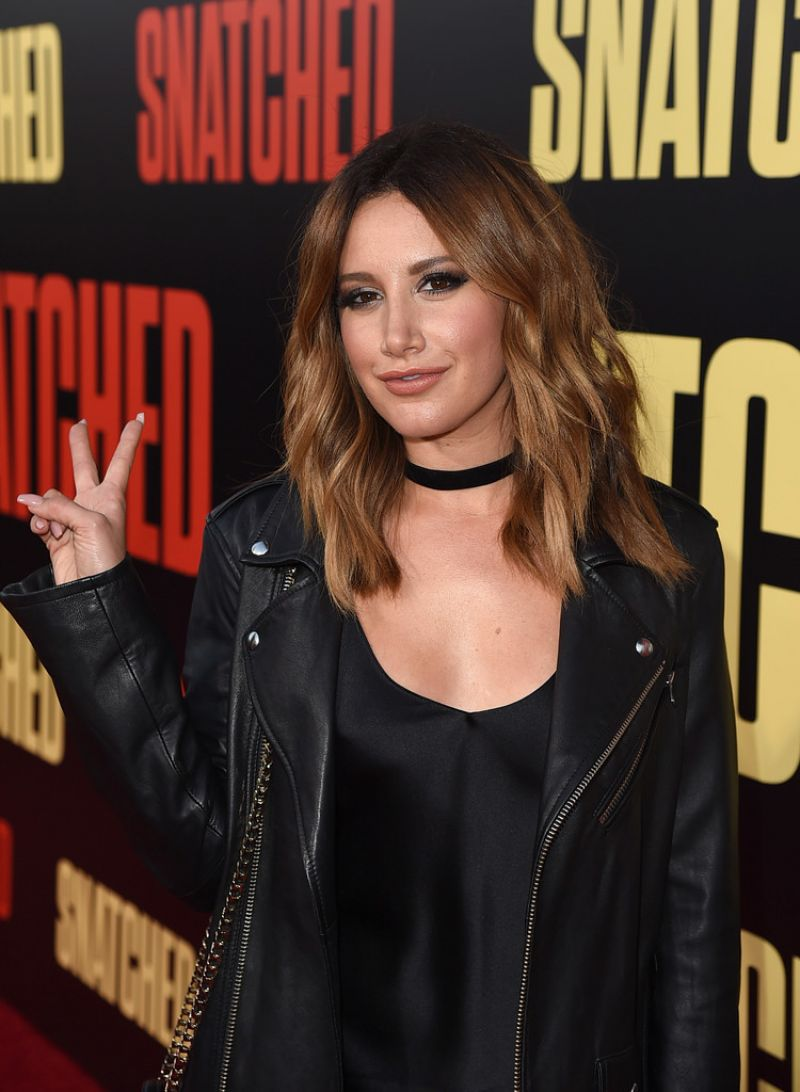 ASHLEY TISDALE at Snatched Premiere in Westwood 05/10/2017