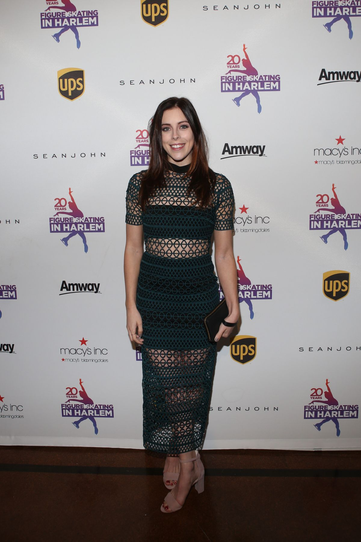 ASHLEY WAGNER at Figure Skating in Harlem Gala in New York ...
