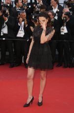 ASIA ARGENTO at Ismael's Ghosts Screening and Opening Gala at 70th Annual Cannes Film Festival 05/17/2017