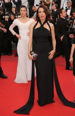 AURE ATIKA at The Killing of a Sacred Deer Premiere at 70th Annual Cannes Film Festival 05/22/2017