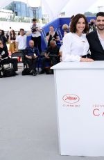 AURE ATIKA at Waiting for Swallows Premiere at 70th Annual Cannes Film Festival 05/22/2017