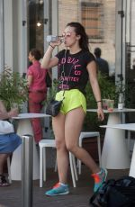 AURORA RAMAZZOTTI Out and About in Milan 05/30/2017