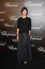 AYMELINE VALADE at Chopard Trophy Event in Cannes 05/22/2017