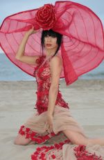 BAI LING on the Set of a Photoshoot in Marina Del Rey 05/05/2017