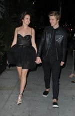 BAILEE MADISON and Alex Lange Leaves a Party in Los Angeles 05/03/2017