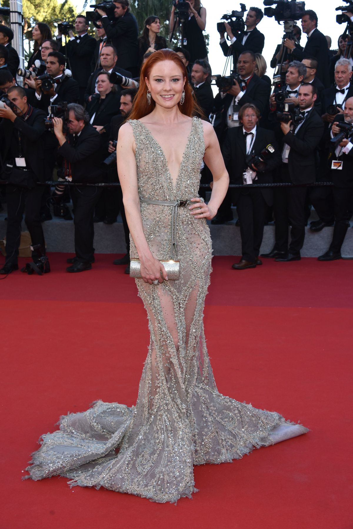 BARBARA MEIER at Ismael's Ghosts Screening and Opening Gala at 70th Annual Cannes Film Festival 05/17/2017