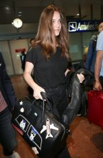 BARBARA PALVIN Arrives at Airport in Nice 05/22/2017