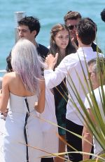 BARBARA PALVIN on the Set of a Photoshoot on Croisette in Cannes 05/24/2017
