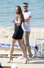 BARBARA PALVIN Out and About in Cannes 05/23/2017