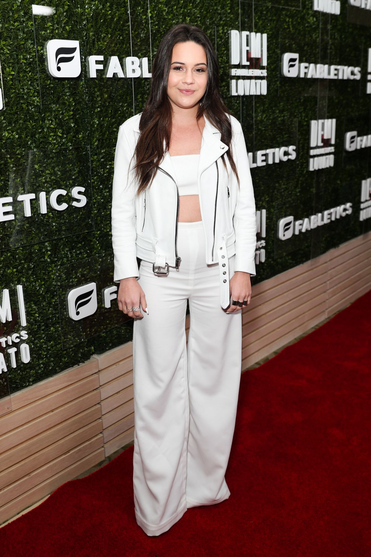 BEA MILLER at Demi Lovato for Fabletics Collaboration Launch in Beverly HIlls 05/10/2017