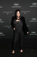 BEATRICE DALLE at Women in Motion Awards Dinner at 2017 Cannes Film Festival 05/21/2017