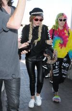 BELLA and DANI THORNE at LAX Airport in Los Angeles 05/22/2017