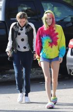 BELLA and DANI THORNE Out in Los Angeles 05/27/2017
