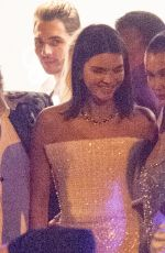 BELLA HADID and KENDALL JENNER at Chopard Space Party at 2017 Cannes Film Festival 05/19/2017