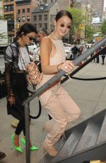 BELLA HADID Arrives at Cipriani in New York 04/30/2017