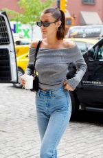 BELLA HADID Arrives at Her Apartment in New York 05/10/2017