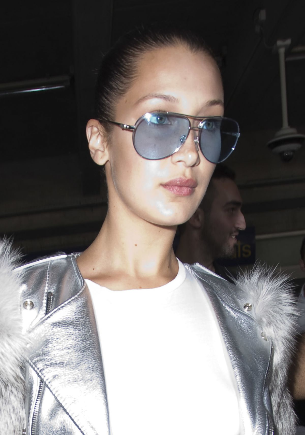 BELLA HADID Arrives at Nice Airport 05/16/2017