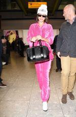 BELLA HADID at Heathrow Airport in London 05/11/2017