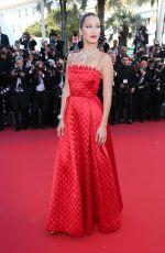 BELLA HADID at Okja Premiere at 70th Annual Cannes Film Festival 05/19/2017