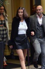 BELLA HADID Leaves Her Hotel in London 05/12/2017