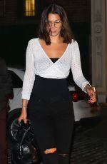 BELLA HADID Night Out in New York 05/12/2017