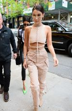BELLA HADID Out and About in New York 04/30/2017
