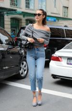 BELLA HADID Out for Lunch at Bubby