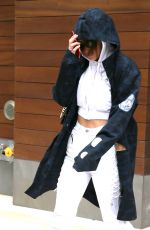 BELLA HADID Out Shopping in New York 04/30/2017