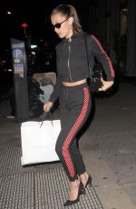 BELLA HADID Out Shopping in New York 05/10/2017